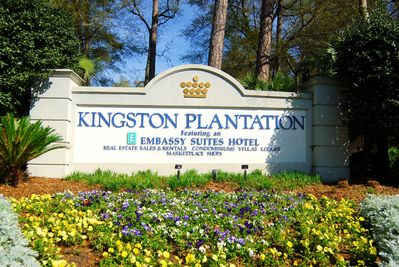 Our condo is located in Myrtle Beach's premier resort, Kingston Plantation!