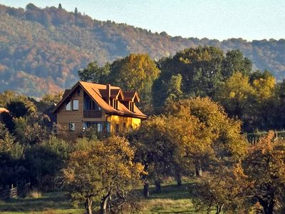 Photo for • VILLA ZOLLO • holiday cottage at the Carpathian foothills in Transylvania