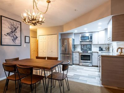 Photo for SLOPE-SIDE CONDO WITH FULL KITCHEN AND FIREPLACE