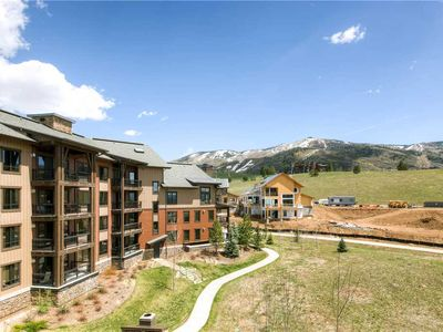 Photo for 1 Bedroom + Den w/Covered Parking, Onsite Hot Tubs, Pool & Fire Pit! Perfect for Summer