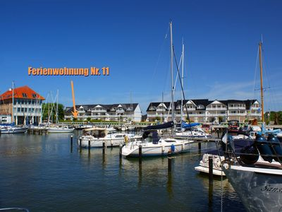 Photo for Apartment No. 11 - Apartment Hafenidyll 11 with harbor view