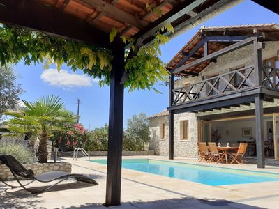 Photo for Converted Chapel With A Private Heated Pool - SPECIAL JUNE?JULY 2020 RATES!!