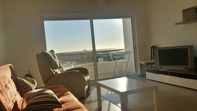 Photo for Holiday home 2 rooms with sea view, air conditioning, wifi and lift