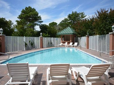 Photo for Spacious bayside condo w/ Pool & parking for 2 cars, Sleeps 6
