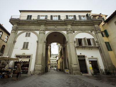 Photo for Albizi Arch Apartment, located inside the San Pier Maggiore arch