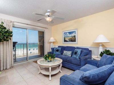 Photo for 3rd Floor Beach-Front Condo w/ Amazing Gulf View, On-Site Outdoor Pool