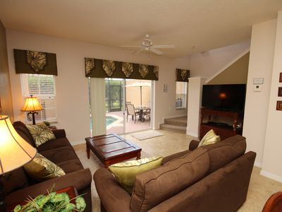 Photo for Affordable Luxury ,Private pool, Minutes to Disney