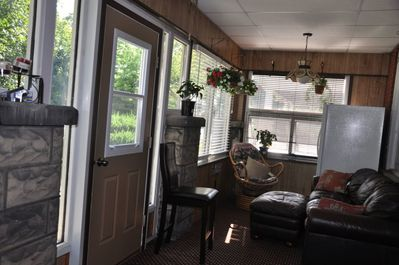 Front Porch Guest Sitting Sun Room