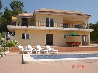 Photo for Beautiful villa with private pool and great views (Alberic)