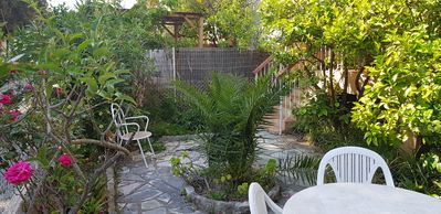 Photo for F4 with garden 700 m from the beach - the best for families