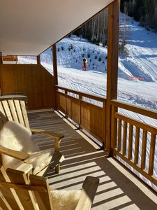 Photo for New apartment, south facing balcony, on the slopes