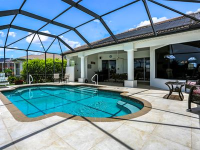Photo for Gorgeous pool villa w. waterview and perfect south exposure = sun ALL day long!