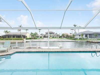 Photo for Laid Back Luxury - Wide Open Newly Remodeled Home with new pool cage