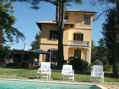 Photo for Villa Del Vado is located in Valdichiana, near Monte San Savino, just 12 km from Arezzo, 65 km from