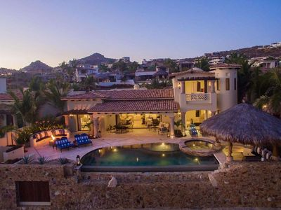 Photo for Luxury 6 BR Beachfront Villa Encantada w/ Heated Pool, Outdoor Stereo + More!