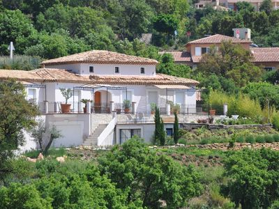 Photo for Luxury villa air-conditioned area of ​​Valcros, La Londe Les Maures