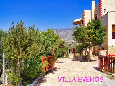 Photo for Villa Evenos in Elafonissi with outdoor swimming pool