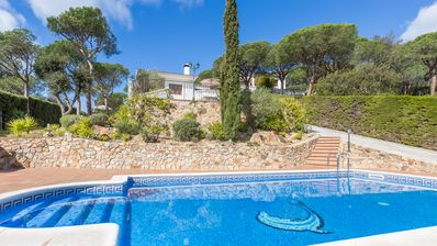 Photo for Holiday house Blanes for 6 persons with 3 bedrooms - Villa