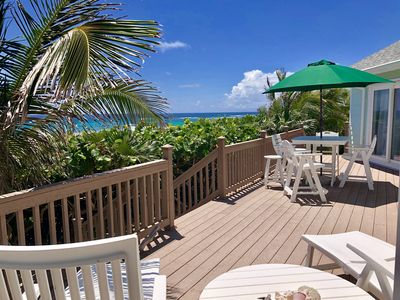 Photo for Palm Paradise Private Beach House 2 Bedroom 2 Baths entire house