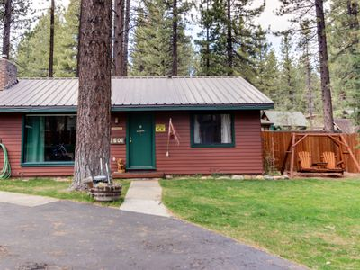 Photo for Dog-friendly cabin complex w/ shared hot tub & nearby lake access!