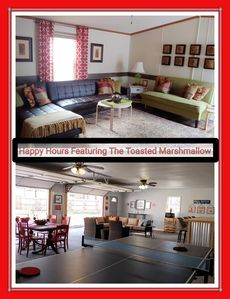 Photo for Happy Hours|Toasted Marshmallow Pub/Game Room.  One of a kind hidden gem!