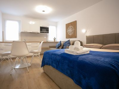 Photo for Delightful, luminous apartment in the historical part of Chioggia