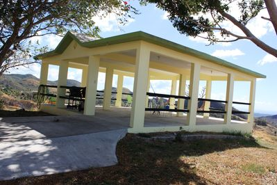 Carribean Vista House, on 5 5 acres, mountains view, sunsets , huge gazebo,  - Guayama