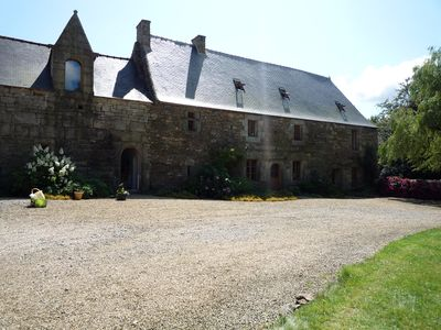 Photo for Nestled in the countryside, manor house in village character near the sea