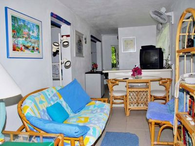 Photo for Cozy, quiet, and safe Studio Apartment - 5 minute walk to Cruz Bay!