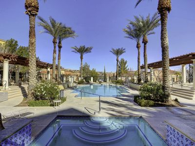 Photo for Luxury Lake Las Vegas  Resort from $89.Walk to Pool.Entire condo.Elevator.Lobby