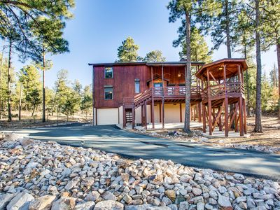 Photo for Blissful Pines Lodge in Alto NM Privacy, Updated, has everything you need!!!
