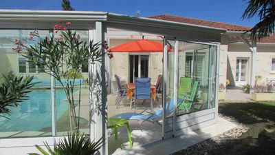 Photo for GITE 12/14 Pers. - HEATED POOL - In AQUITAINE Close to PERIGORD