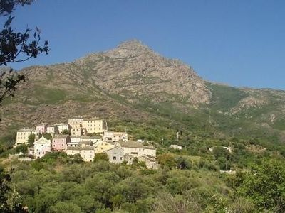 Photo for Apartment at Corsican Cap, in a village, 1 mile away from the sea