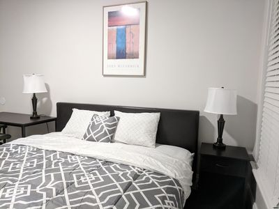 Photo for 2 Bed - Modern - Clean living space Next to Prudential