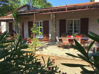 Photo for Quaint Holiday Home With Private Pool in Lorgues France