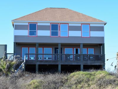 Photo for 58 Steps - Coastal Living Beachfront Home. Sleeps 30. Great for events!