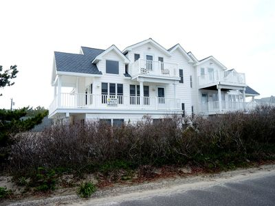 Photo for 110 ft of beach frontage offers outstanding ocean views from inside this beautiful home