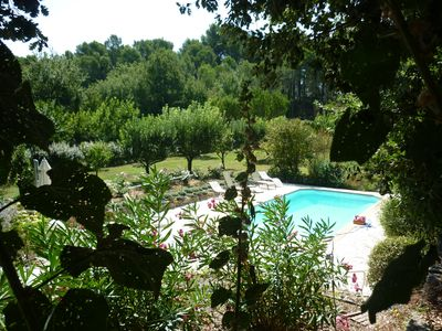 Photo for House with Pool in Countryside Near Aix En Pce and the Luberon