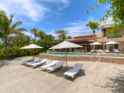 Photo for Rancho Manzanillas - luxury 6 bedrooms serviced villa - Travel Keys