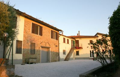 Photo for Comfortable apartment in a centuries-old farm, in the heart of the Tuscan countryside