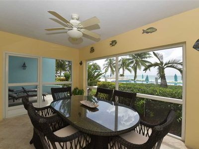 Photo for Contemporary Caribbean condo on Seven Mile Beach | Beachfront Condo #6