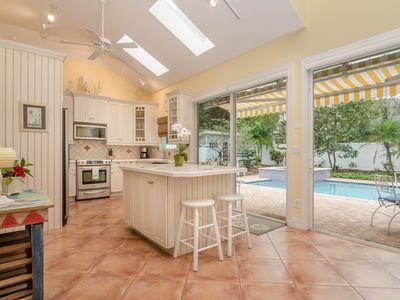 Photo for Sunny, Private Pool/Spa Home - Walk to Prime Beach & Shopping!
