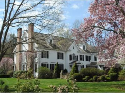 A private summer compound in Westport, CT - total seclusion yet close to it all