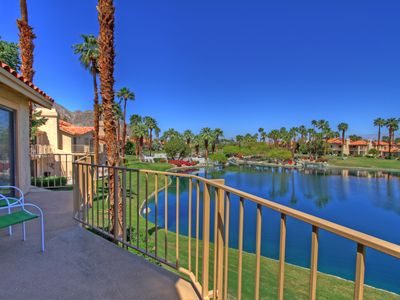 Photo for Two Bedroom, Two Bath Condo at PGA West with Gorgeous Lake Views, Sleeps Six!