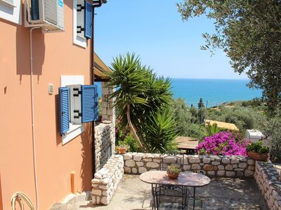 Photo for Perfect located: calm and idyllic above the sea - holiday house Lakonia, Pelopon