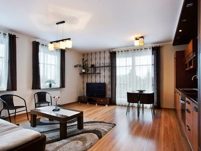 Photo for Apartment 643 m from the center of Sopot with Internet, Lift, Balcony, Washing machine (502937)