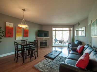 Photo for 2 Bedroom, 2 Bath, sleeps 6.  Lake View, walking distance to the beach and park