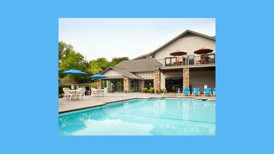Sparkling Pool just steps from your condo!