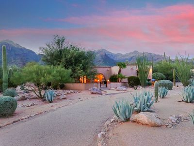 Photo for Gated Southwest property next to Sabino Canyon State Park and Catalina Mountains