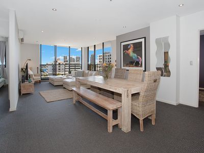 Photo for Immaculate 3 Bedroom Apartment Central Gold Coast. Modern Stylish